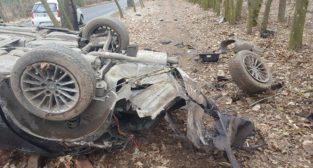 Wypadek na drodze do Sowińska