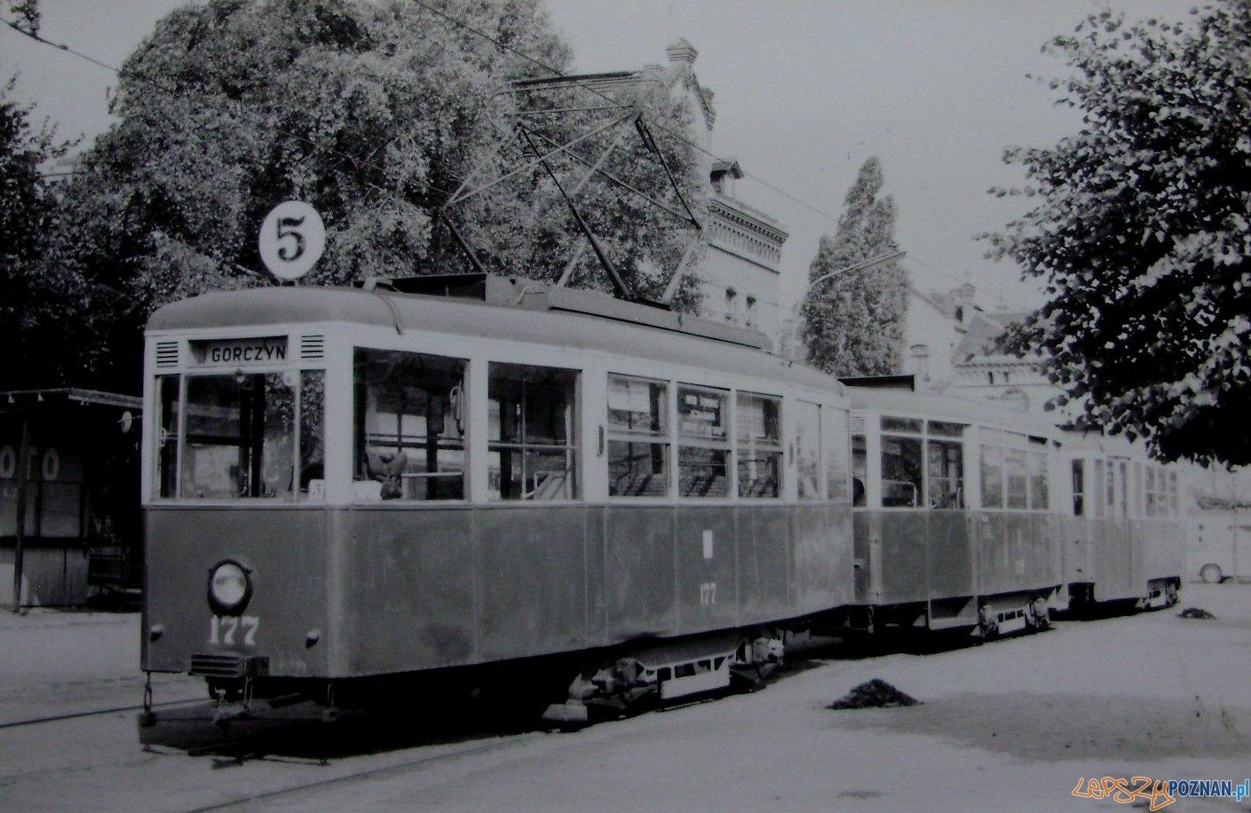 Grochowe Łąki - przystanek 1967  Foto: