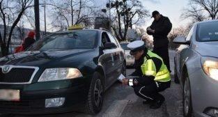 Taxi - kontrola policji