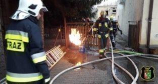 Pożar restauracji Jabłonka