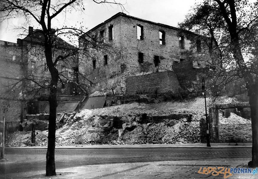 Wzgórze Przemysła w 1945 roku  Foto: Muzeum Narodowe w Poznaniu
