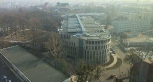 tzw dzielnica sądowa - widok z UMWW