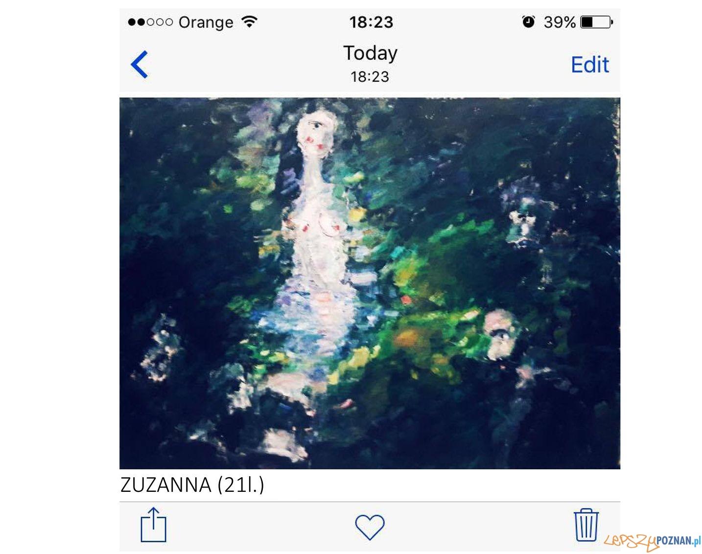 Zuzanna w kąpieli  Foto: Galeria FWD