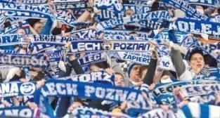 Lech Poznań - Lechia Gdańsk (najlepsi kibice na świecie)