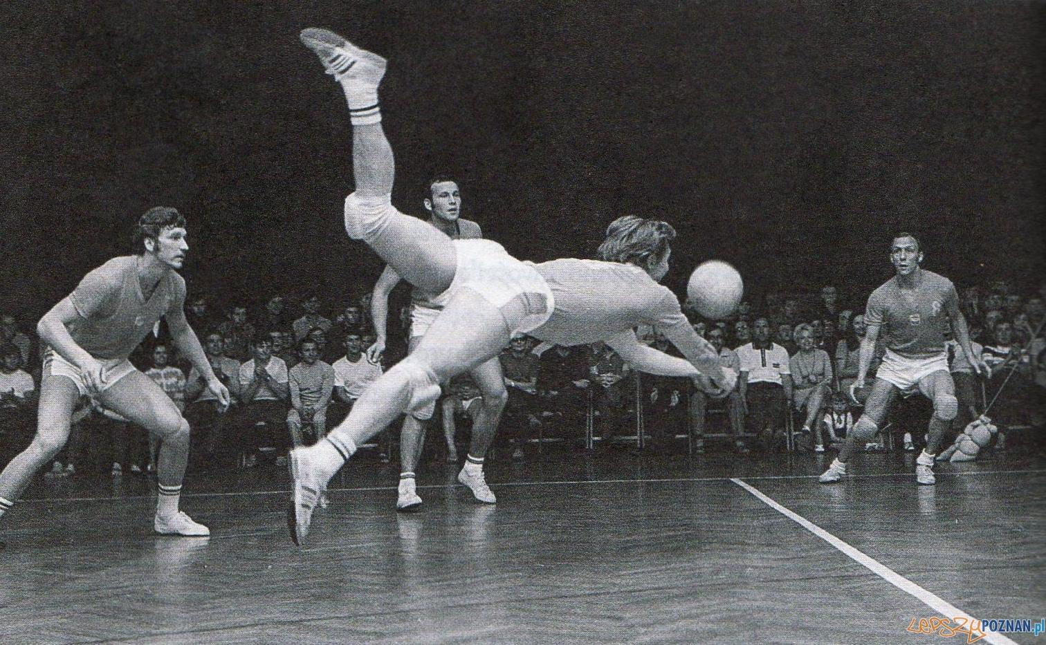 Hubert Wagner podczas meczu reprezentacji Polski