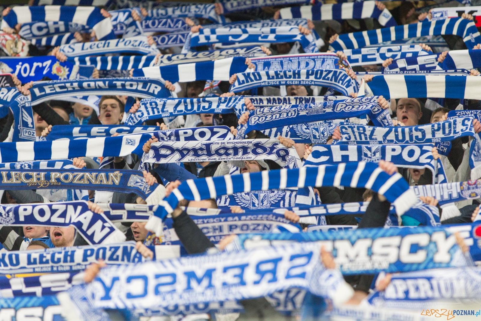 Puchar Polski: Lech Poznań - Pogoń Szczecin  Foto: lepszyPOZNAN.pl / Piotr Rychter