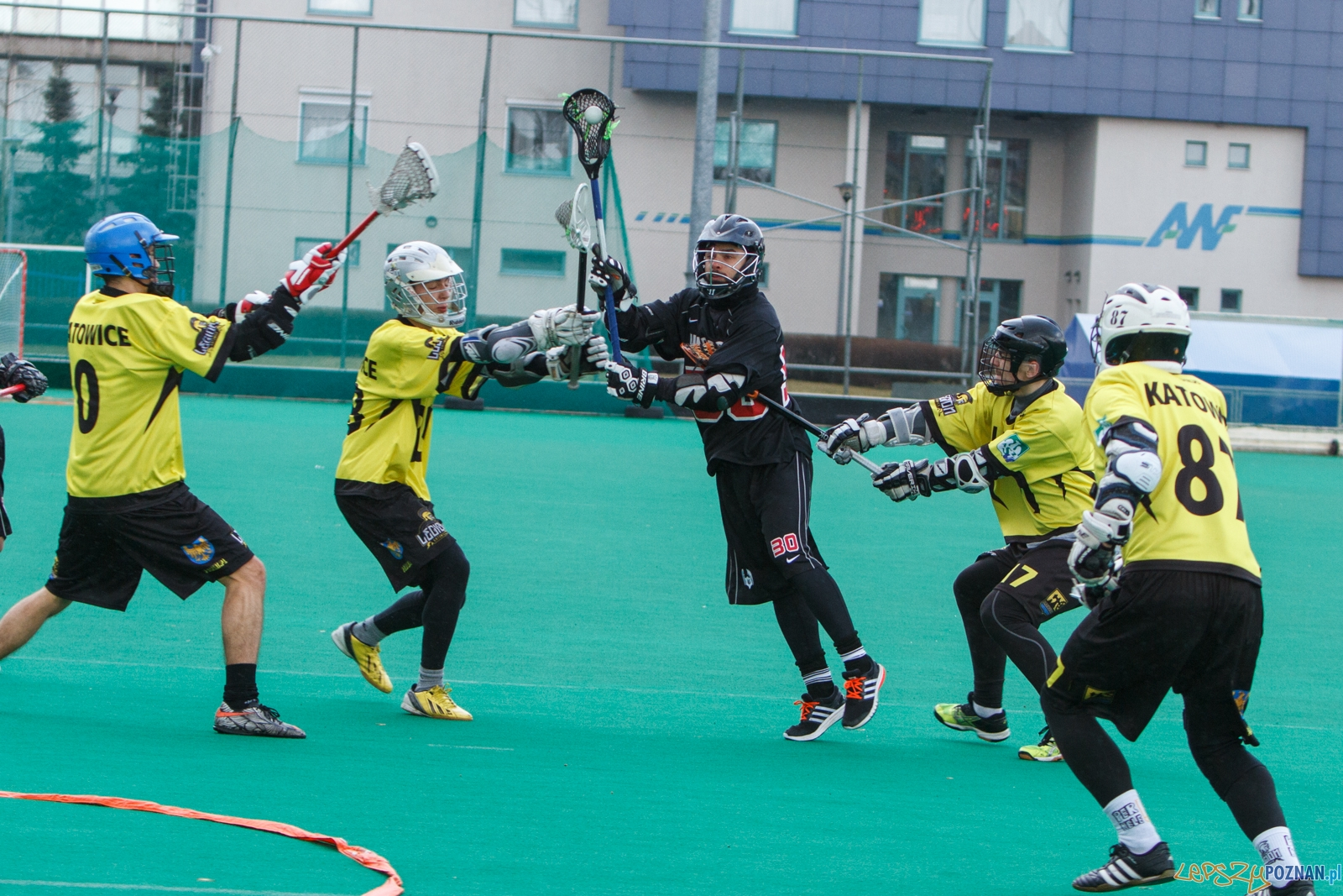 Mecz Lacrosse: Poznań Hussars - Legion Katowice 7:2 - Poznań 1  Foto: LepszyPOZNAN.pl / Paweł Rychter