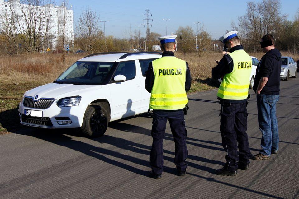 Polowanie na kierowców Ubera  Foto: fb / Stowarzyszenie Zawodowe Poznańskich Taksówkarzy
