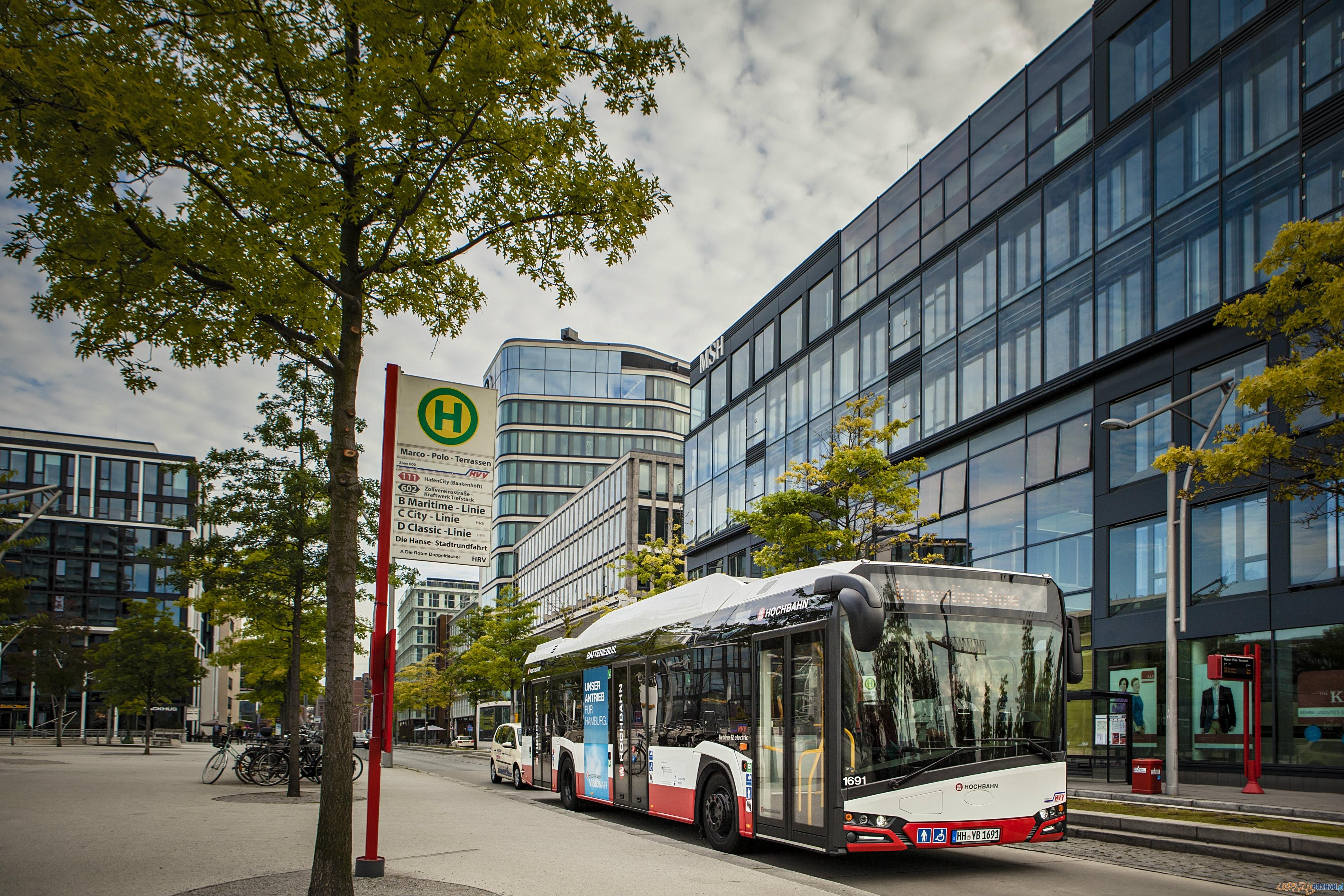 Nowy solaris urbino 12 electric (Hochbahn Hamburg)