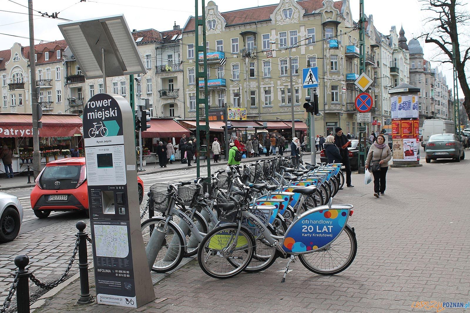 Stacja rowerowa Jeżyce - Kraszewskiego