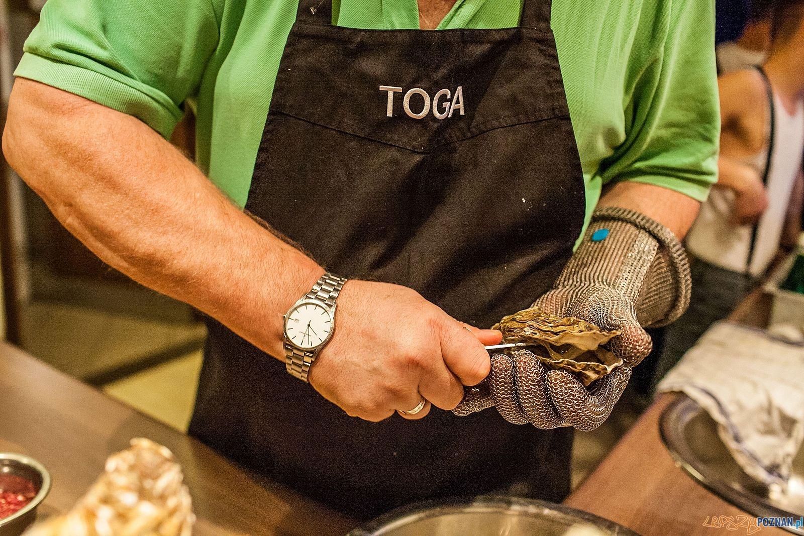 Ostrygi - Restauracja Toga zaprasza na święto kuchni francuskiej  Foto: J. Redondo Bueno / exPress