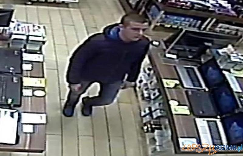 Podejrzany o kradzież konsoli ze sklepu