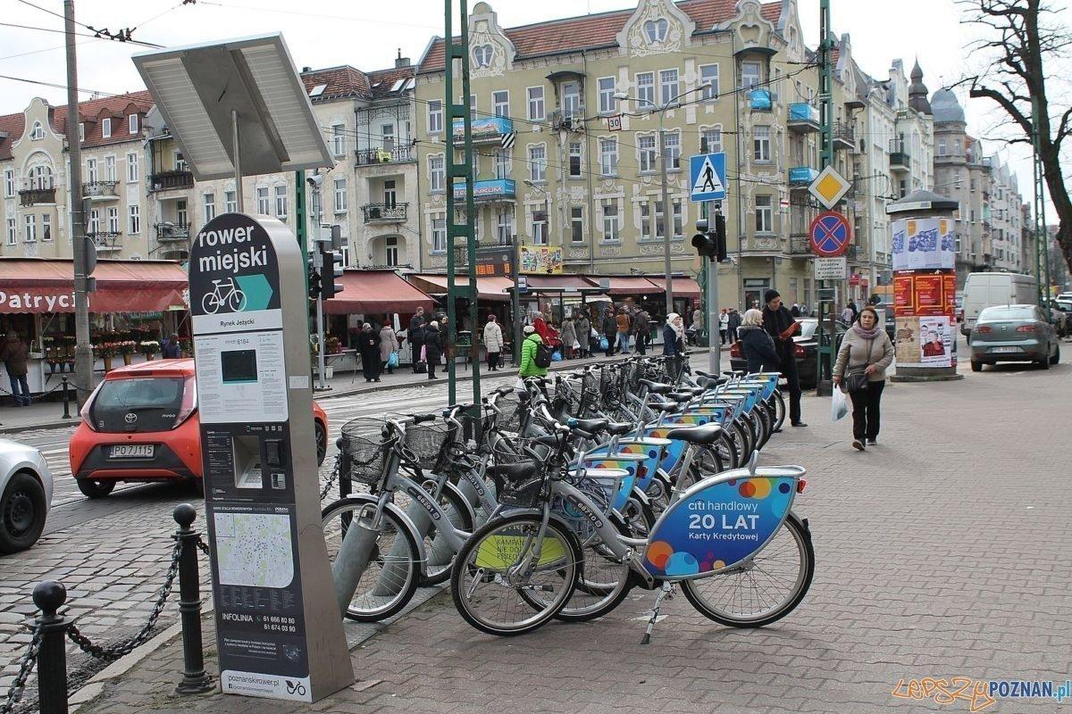 Stacja rowerowa na ul. Kraszewskiego