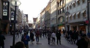 Monachium - deptak