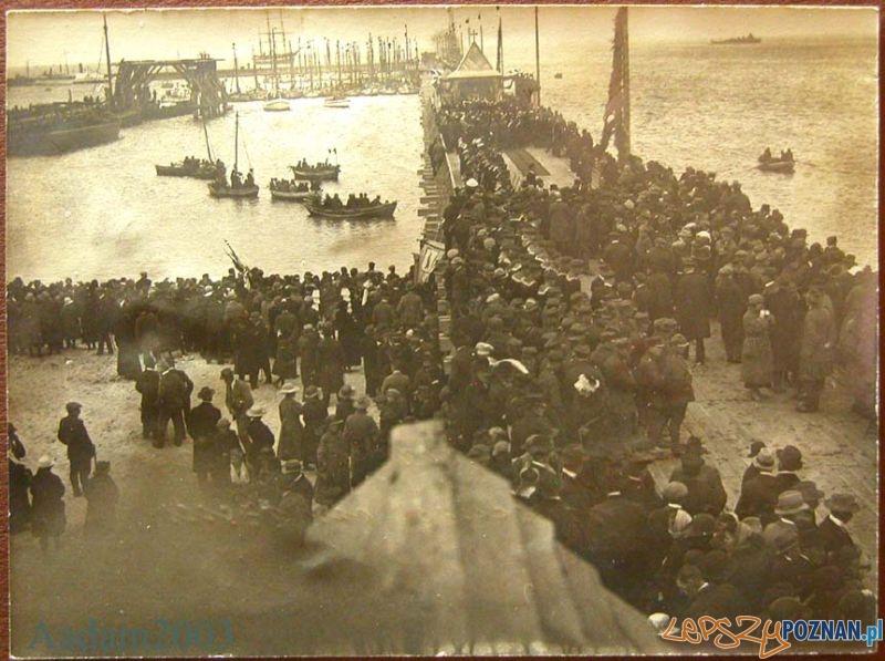 Gdynia - poświęcenie portu