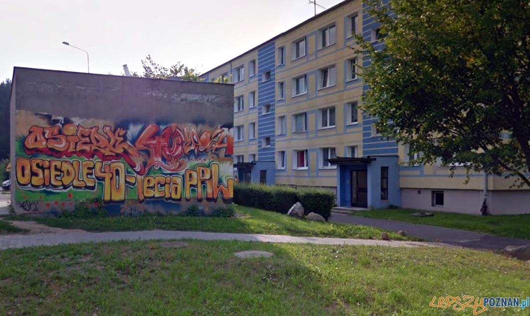 os. 40-lecia PRL w Czerwonaku  Foto: Google Street View