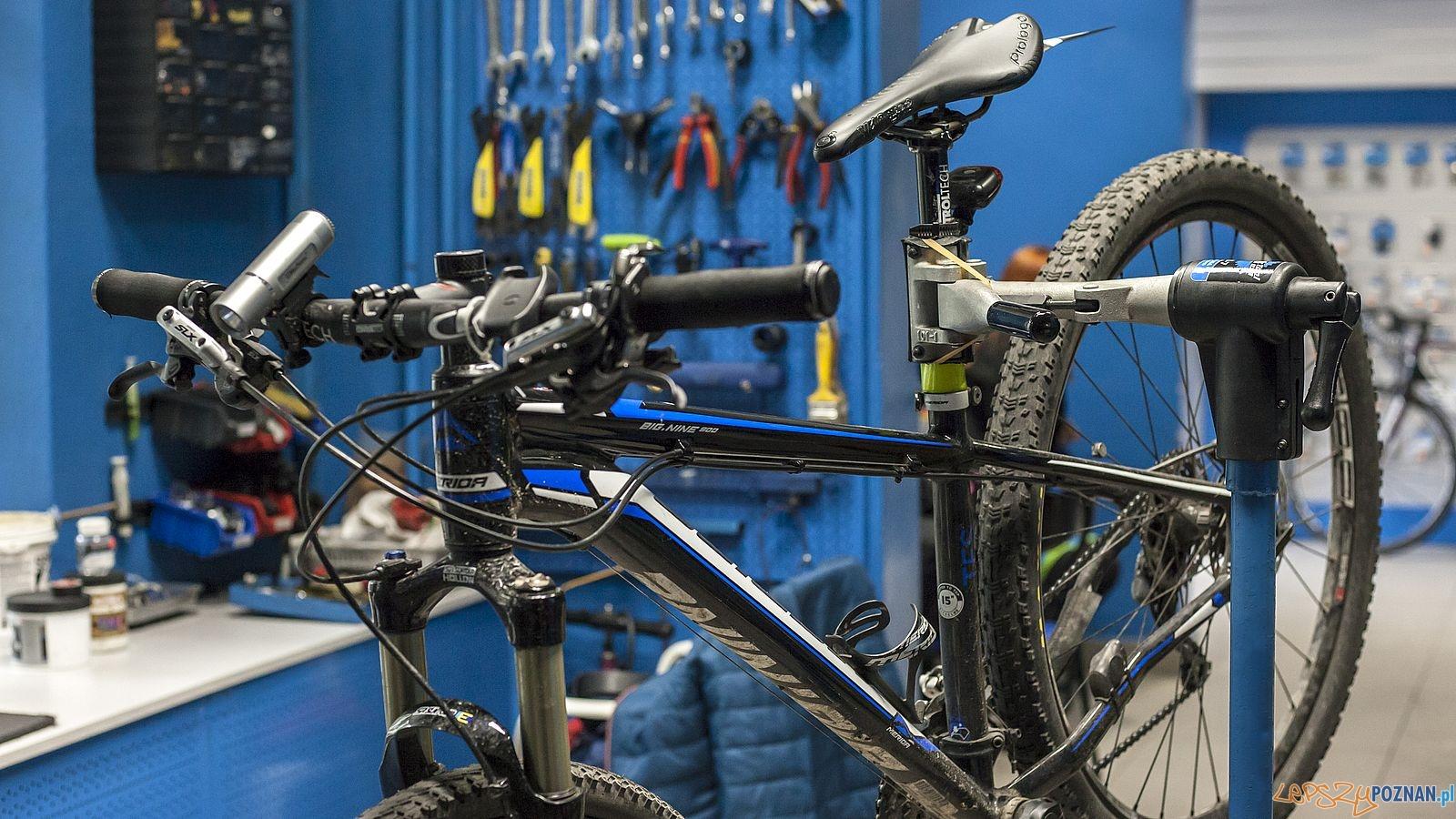 Rower - serwis  Foto: bikeatelier.pl