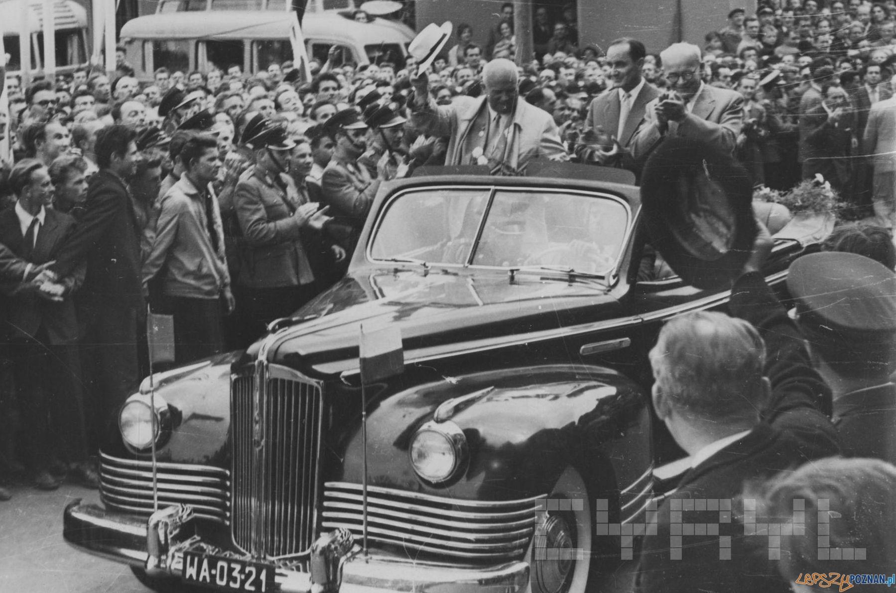Wizyta Chruszczowa w Poznaniu - 18.07.1959  Foto: H. Ignor / Cyryl
