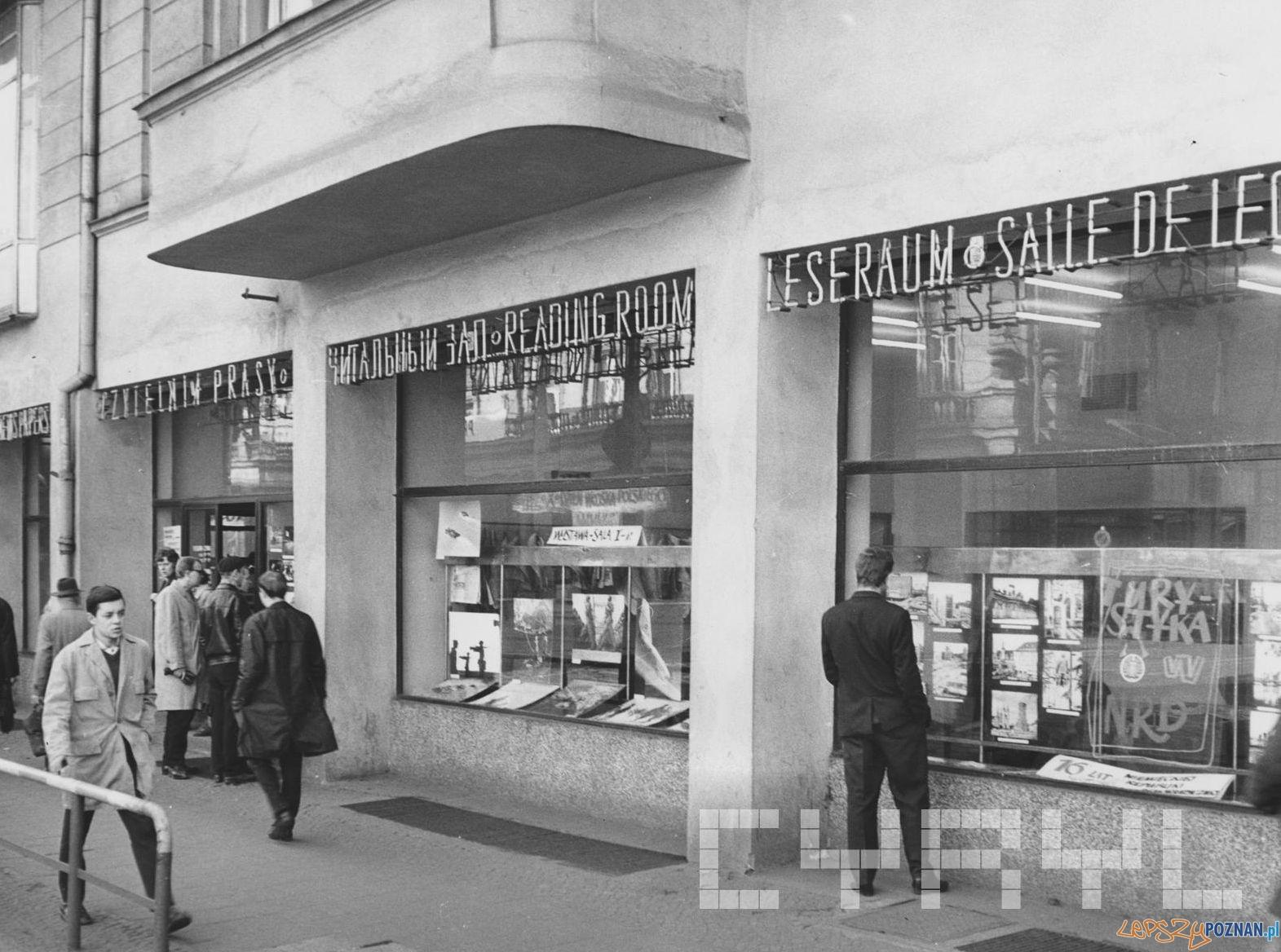 Empik Klub Międzynarodowej Prasy i Książki 1966