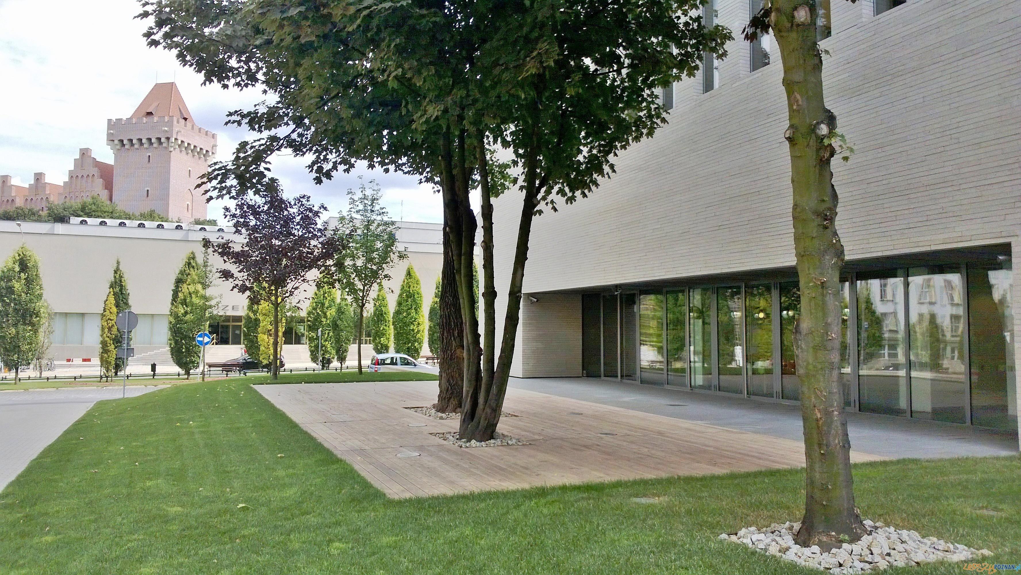 Biblioteka Raczyńskich - nowy gmach