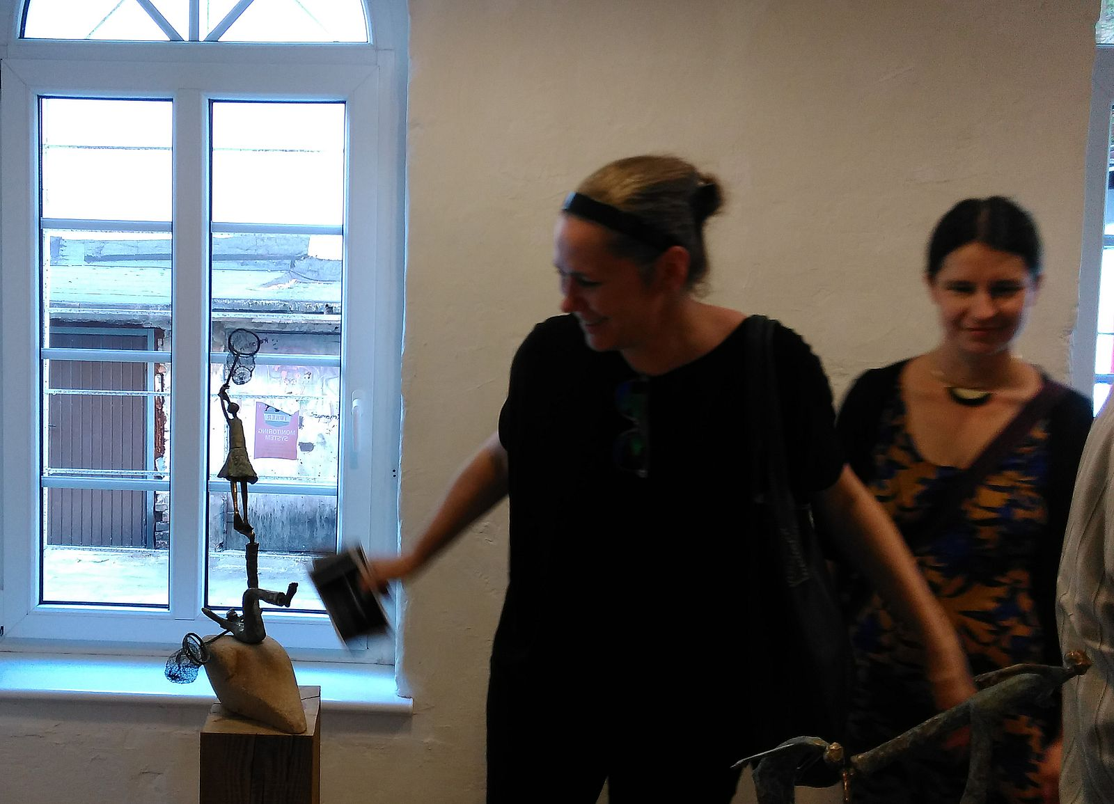 Centralne Oko - wystawa A. Ilskiej Gruchot (2)  Foto: Tomasz Dworek