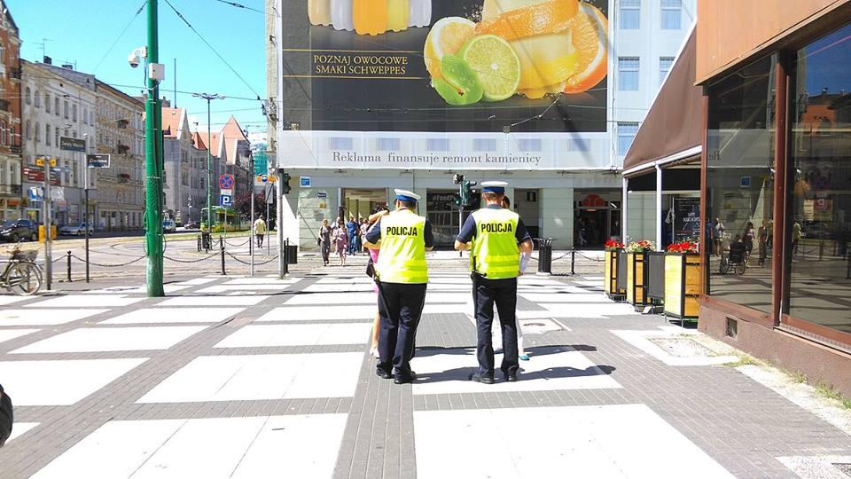 Policja - patrol pieszy  Foto: lepszyPOZNAN / TD