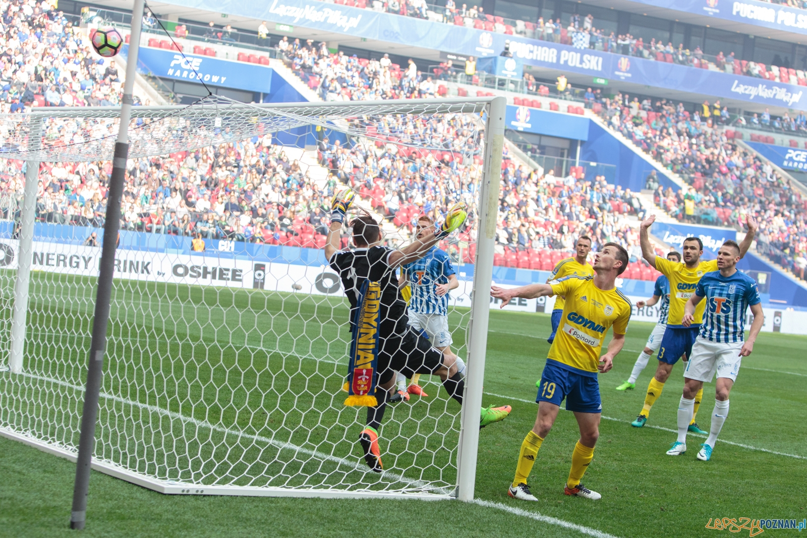 Finał Pucharu Polski: KKS Lech Poznań - Arka Gdynia 0:0 (1:2)  Foto: LepszyPOZNAN.pl / Paweł Rychter