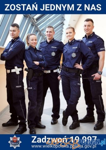ZOSTAŃ JEDNYM Z NAS - PRACA W POLICJI