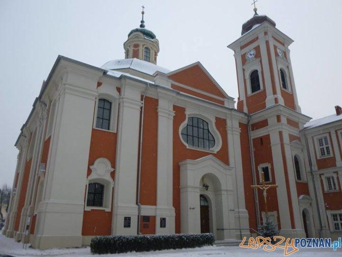 Owińska - kościół pod weznaniem Św. Jana Chrzciciela