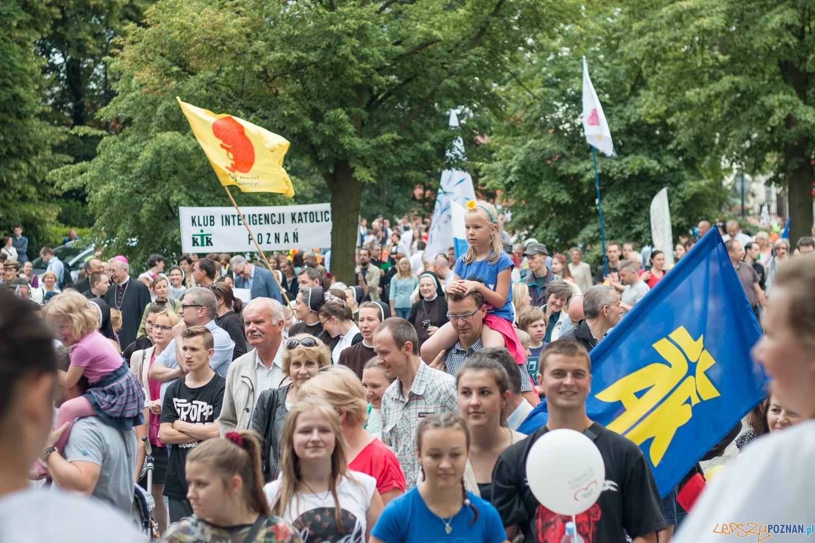 Marsz dla Życia Poznań 2016  Foto: materiały prasowe / Ł. Antczak