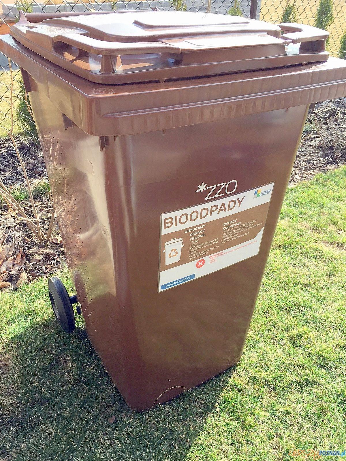 Pojemnik na BIO odpady  Foto: GOAP / materiały informacyjne
