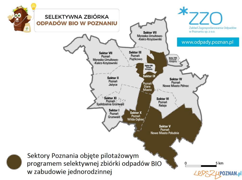 Zbiórka BIO odpadów w Poznaniu  Foto: GOAP / materiały informacyjne