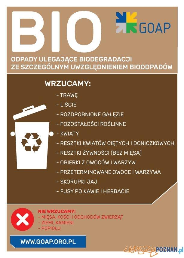 Bio odpady  Foto: GOAP / materiały informacyjne