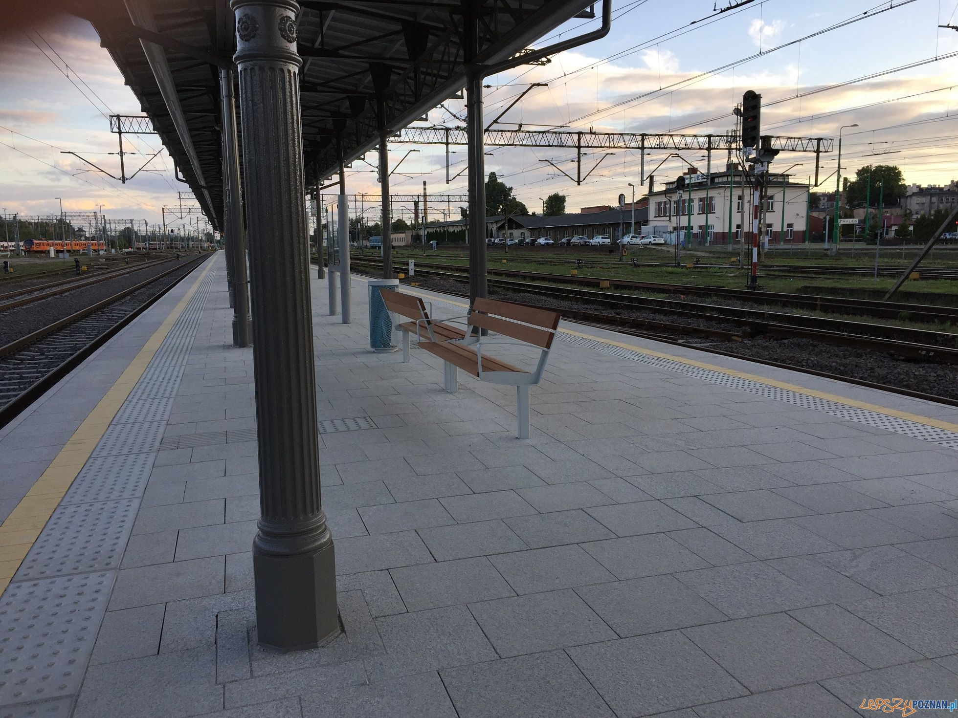 Dworzec Poznań Główny - peron 4a  Foto: materiały prasowe
