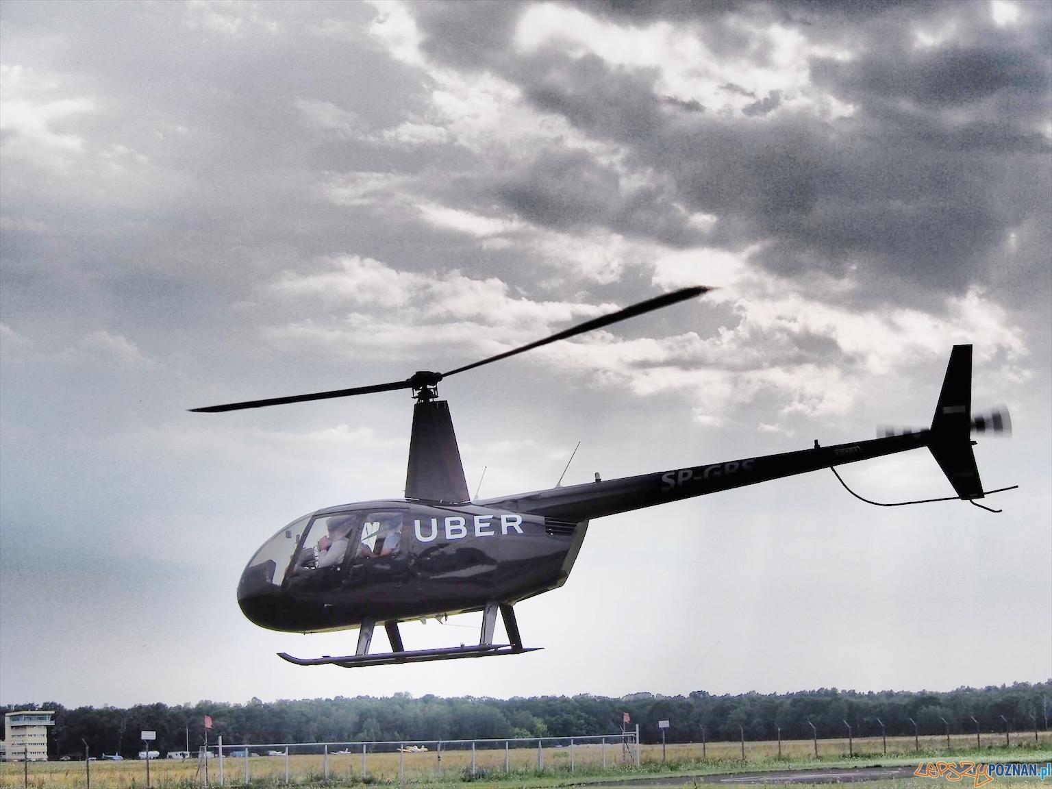 uberhelikopter  Foto: Uber