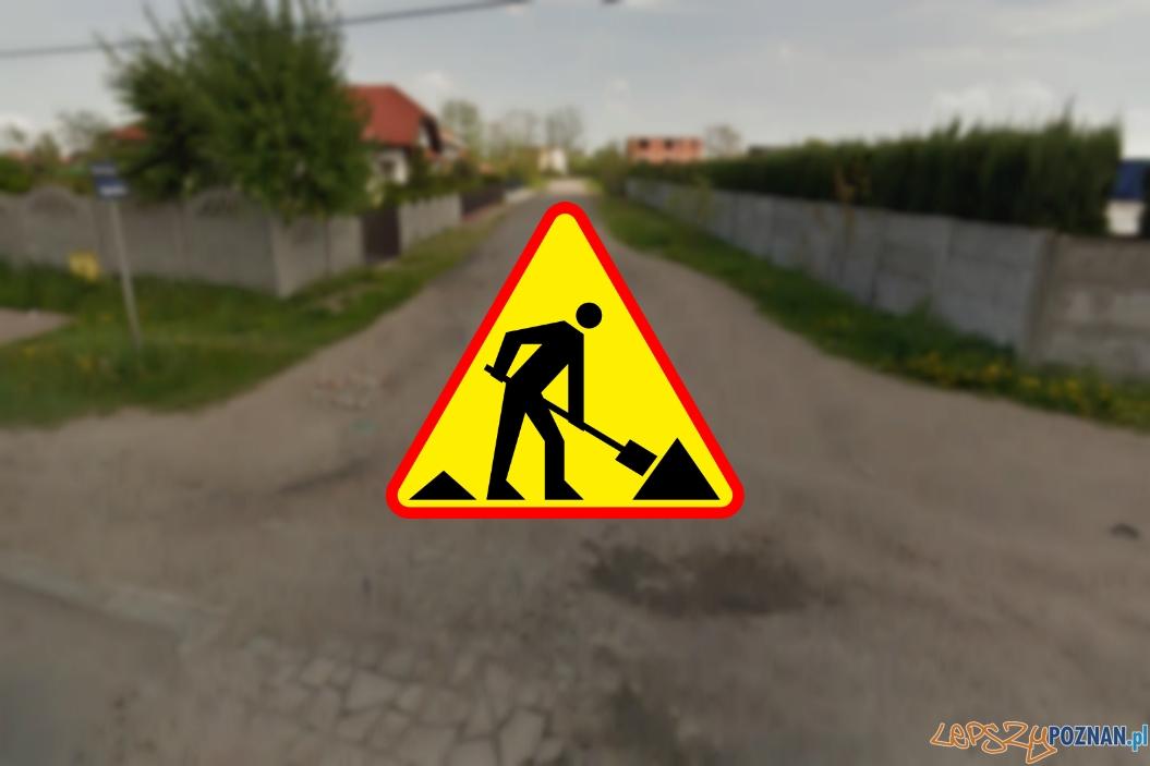 ul. Lipnicka na Starołęce  Foto: Google Streetview