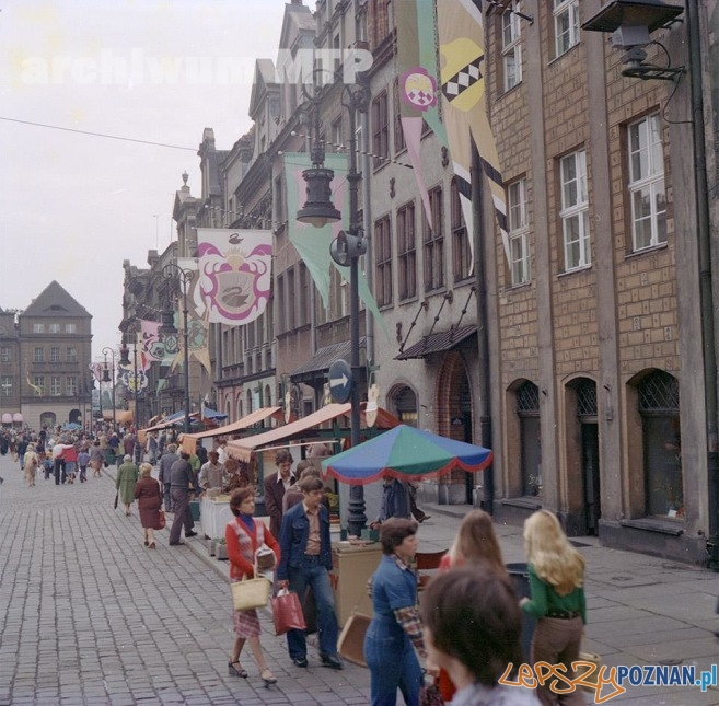 Stary Rynek 1978  Foto: Archiwum MTP