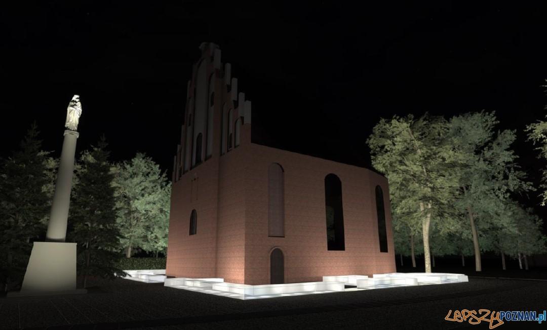 Kościółek Marii Panny in Summo na poznańskim Ostrowie Tumskim  Foto: UMP