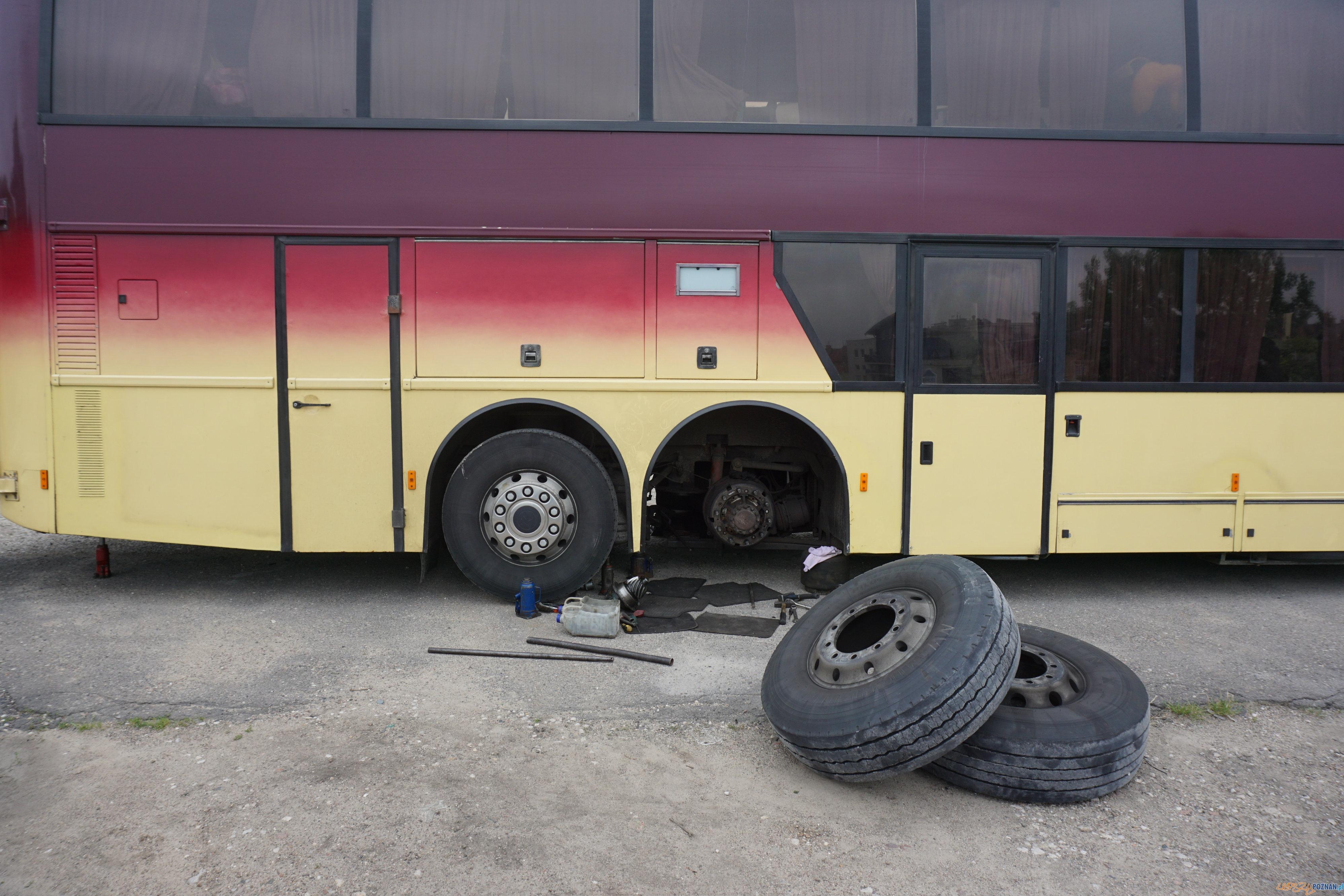 Dzieci z Białorusi po awarii autokaru przyjęto na Chwiałce  Foto: POSiR