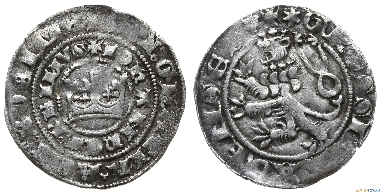 Grosz praski, Jan I Luksemburski 1310-1346  Foto: Warszawskie Centrum Numizmatyczne