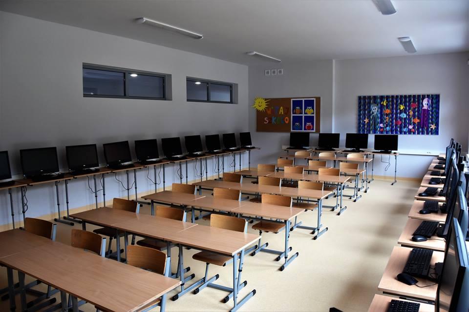 Kobylnica - zmodernizowana szkoła  Foto: T. Rybarczyk / UMiG w Swarzędzu