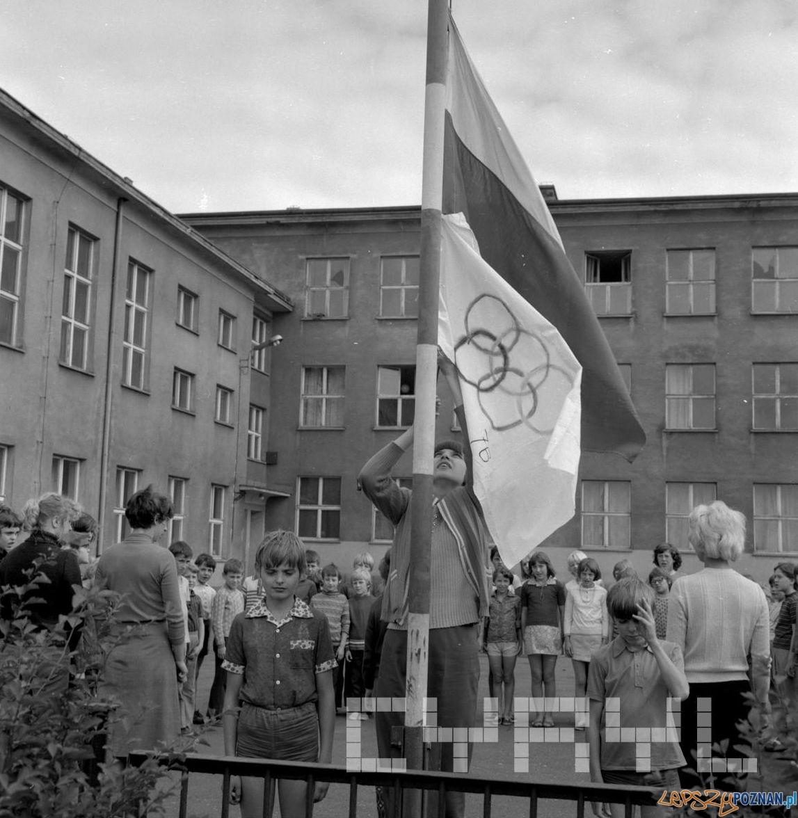 Półkolonie dla dzieci z PGR-ów na Świerczewie 6.08.1976  Foto: Stanisław Wiktor / Cyryl