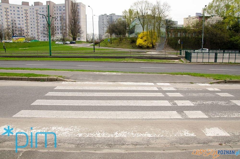 Żegrze - tu powstanie przejście dla pieszych  Foto: Krzysztof Kaczanowski / PIM