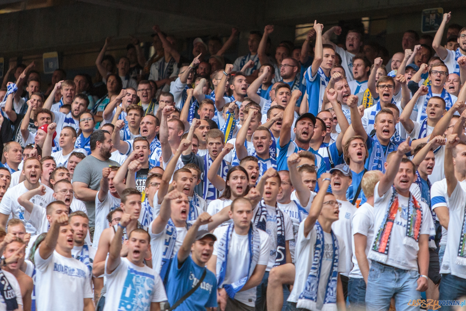 Lech Poznań - Arka Grynia 3:0 - Poznań 27.08.2017 r.  Foto: LepszyPOZNAN.pl / Paweł Rychter