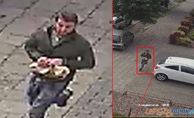 Wyrwał torebkę i uciekł!  Foto: monitoring