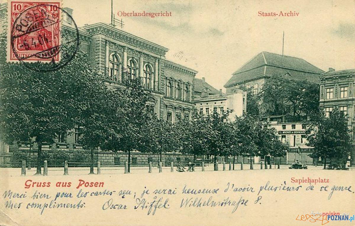 Plac Wielkopolski 1904  Foto: