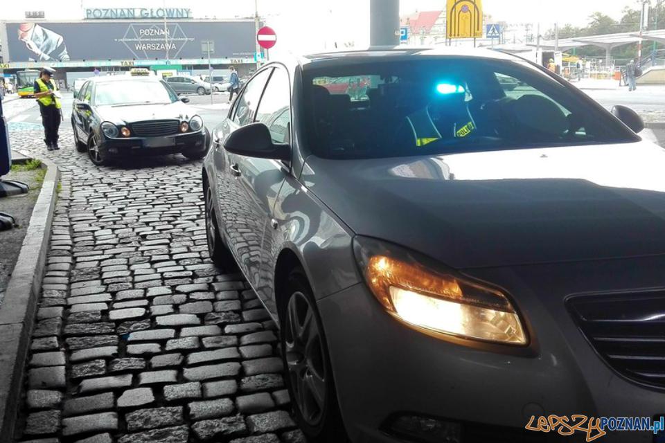 Policyjna akcja Taxi  Foto: KMP w Poznaniu