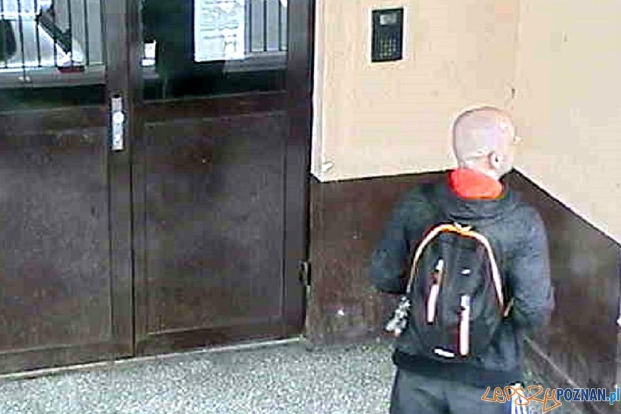Ukradł dmuchawę ogrodową  Foto: monitoring