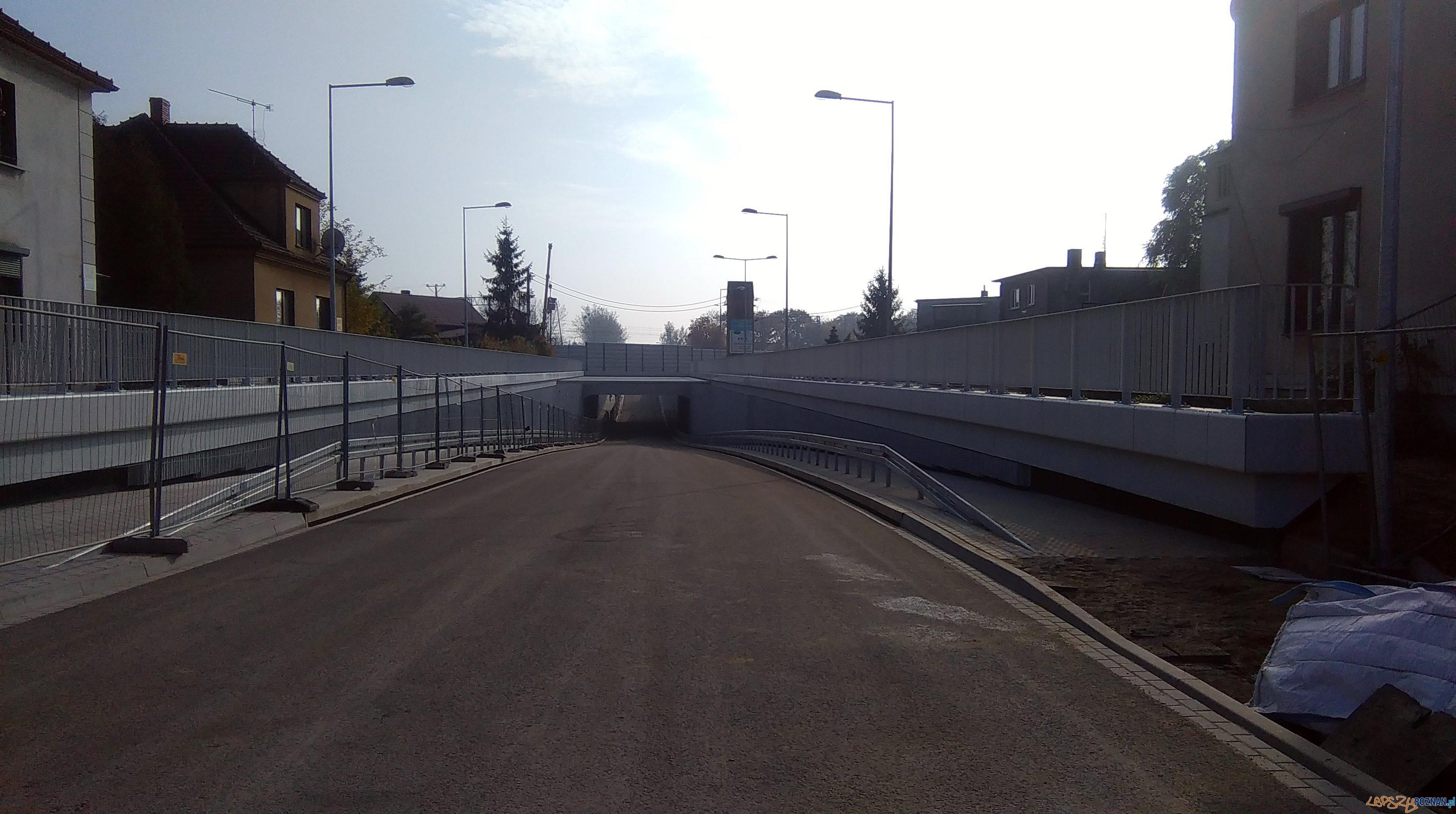 Tunel na ul. Śremskiej w Mosinie  Foto: UMiG Mosina