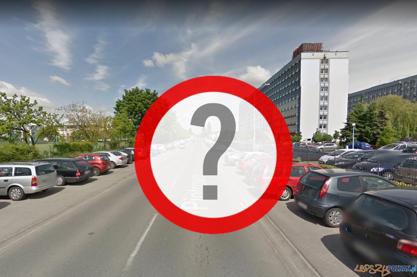 Piotrowo dla Politechniki?  Foto: Google Street View